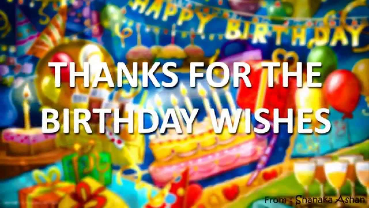 thank you message for birthday greetings facebook ; maxresdefault