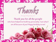 thank you message for birthday greetings from girlfriend ; 45c26232cd597057ccff20bffbe09df1--birthday-thank-you-message-birthday-wishes-messages
