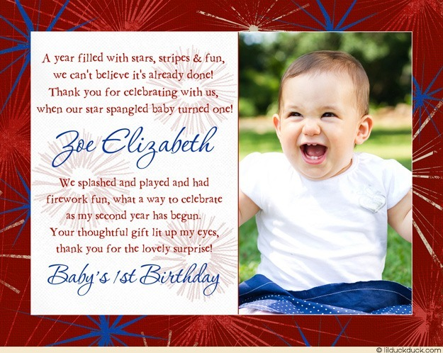 thank you message for birthday greetings from girlfriend ; patriotic-photo-birthday-thank-you-white-text-red