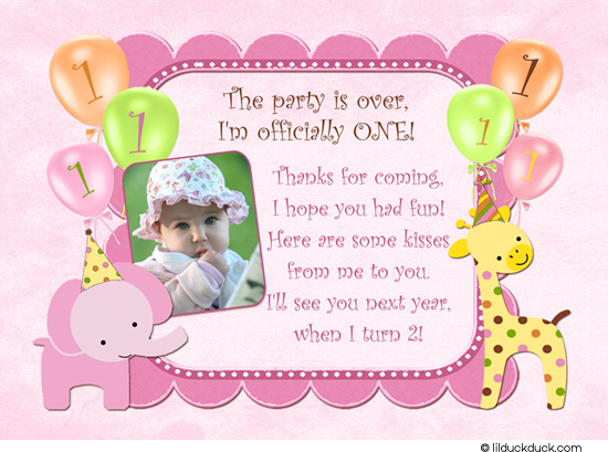 thank you message for birthday greetings from girlfriend ; thank-you-birthday-cards-sweet-safari-girl-thank-you-card-elephant-giraffe-balloons