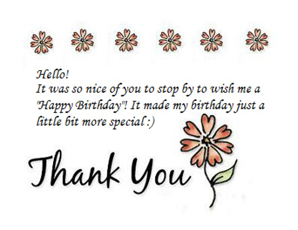 thank you message to friends for birthday greetings ; Lovely+Birthday+SMS4