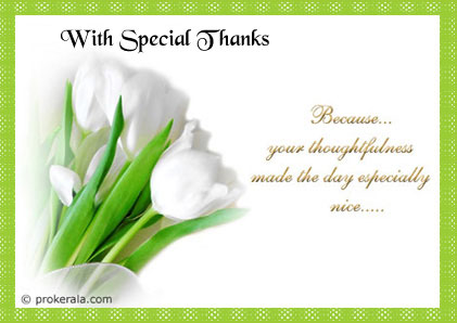 thank you message to friends for birthday greetings ; special-thanks