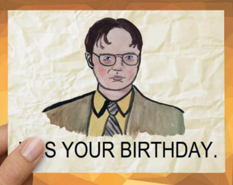 the office birthday card quotes ; il_340x270