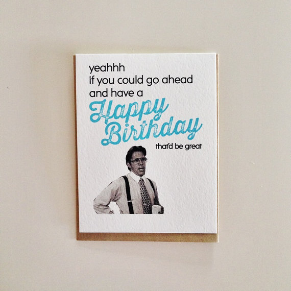 the office birthday card quotes ; office-birthday-cards-rectangle-potrait-black-blue-boss-picture-with-funny-wording-office-space-birthday-card-by-crumpleandtoss-on-etsy