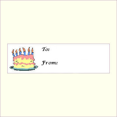 to from birthday labels ; 3553629295_37dd29980a