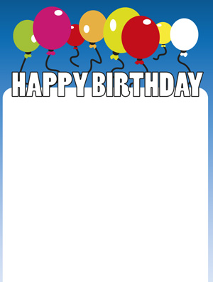 to from birthday labels ; birthday-label-006