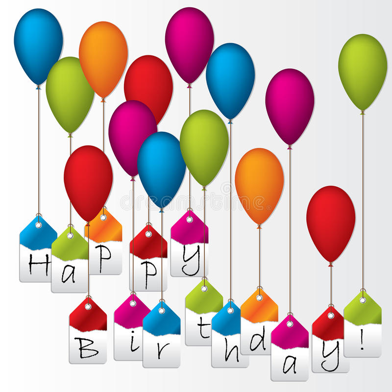 to from birthday labels ; happy-birthday-labels-hanging-color-balloons-23242919