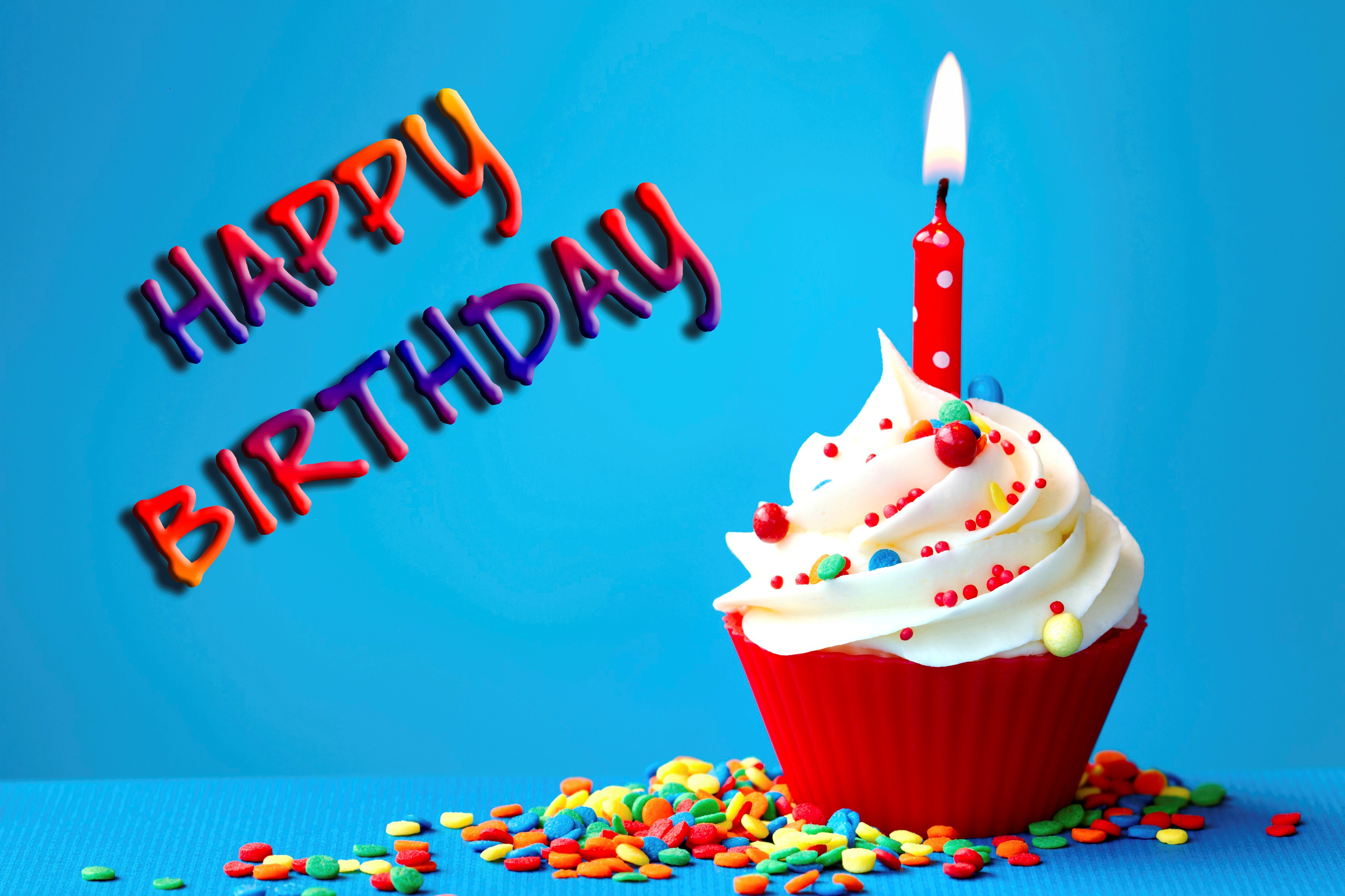 wallpaper birthday images ; Amazing_Birthday_Wish_with_Cake_and_Candle_Wallpaper