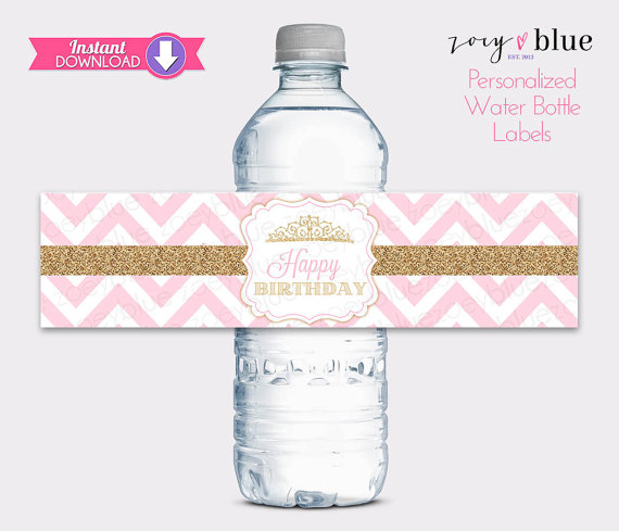 water labels for birthday ; il_570xN
