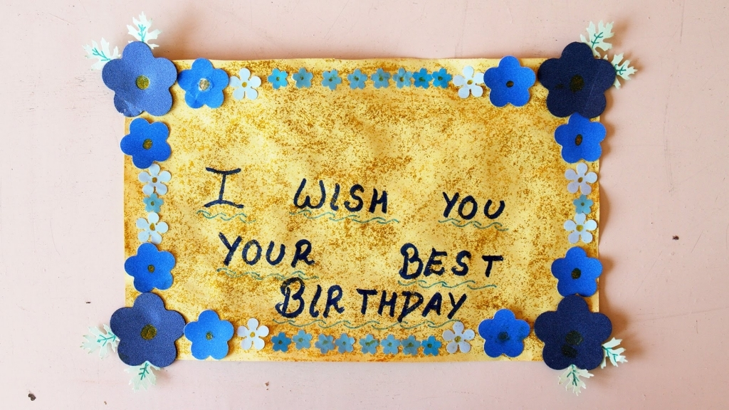 youtube birthday wishes card ; how-to-make-a-beautiful-birthday-greeting-card-youtube