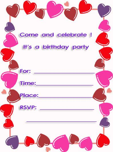 10th birthday invitation templates free ; 5feb567d01a1a4f4e7fb6623acfe1827
