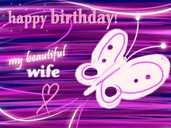 123 greeting cards birthday for wife ; 319906