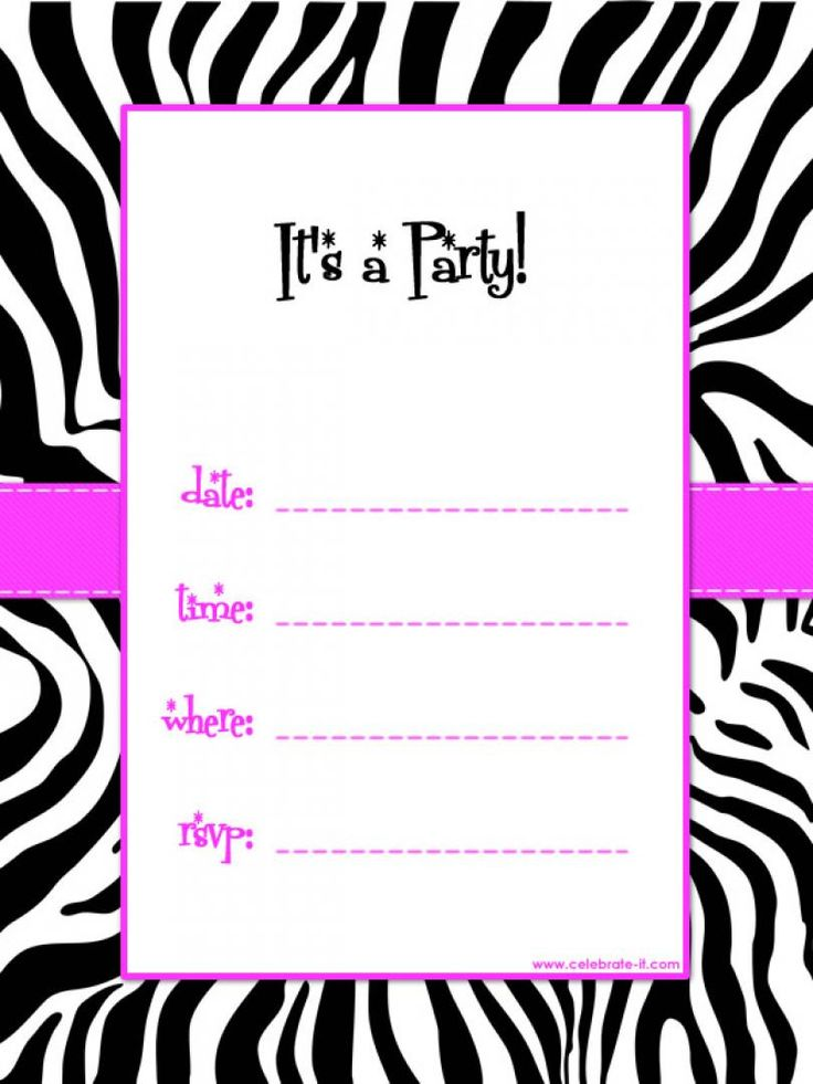 13th birthday party invitations printable free ; free-birthday-party-invitation-template-to-design-fair-Birthday-invitation-card-based-on-your-style-139201616