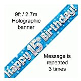 15th birthday card messages ; 41sdbH9q4IL
