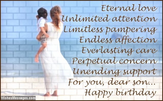 15th birthday card messages ; Birthday-greeting-card-message-for-son
