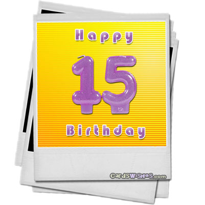 15th birthday card messages ; happy-15th-birthday-featured