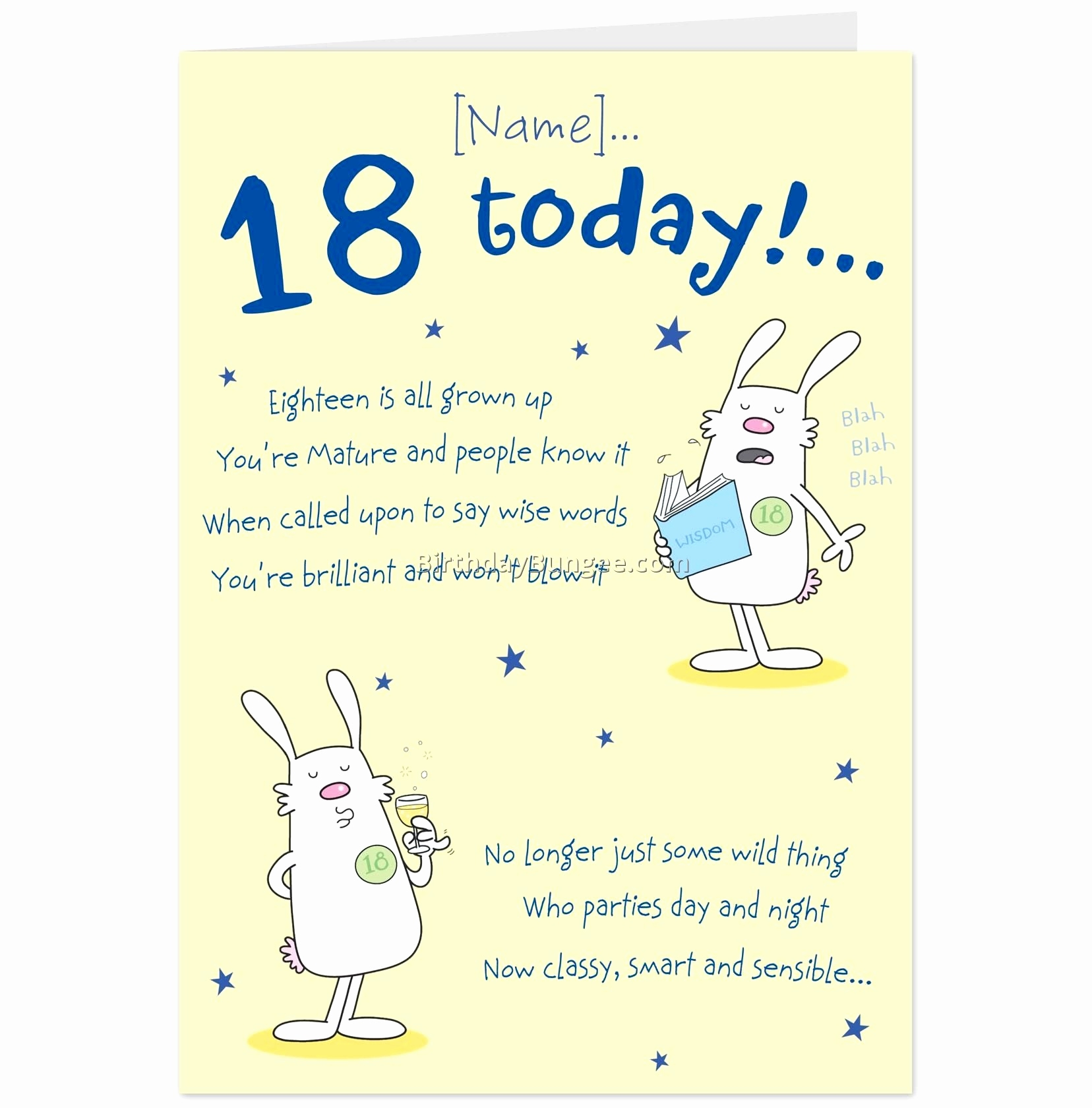 18 Year Old Birthday Card Messages