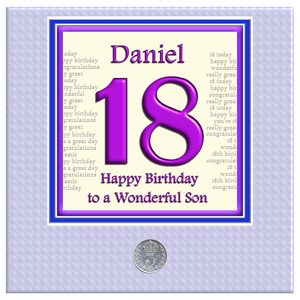 18 year old birthday card messages ; 18th_son_daughter