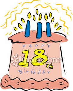 18th birthday cake clipart ; An_18th_Birthday_Cake_Royalty_Free_Clipart_Picture_090427-222820-102009