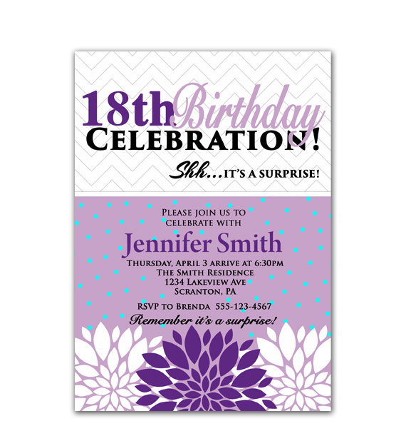 18th birthday party invitation designs ; 18th-birthday-party-invitations-to-inspire-your-appealing-Birthday-invitations-designs-11