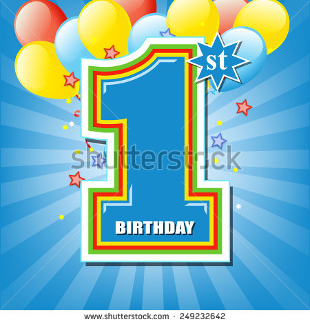 1st birthday background images ; 249232642