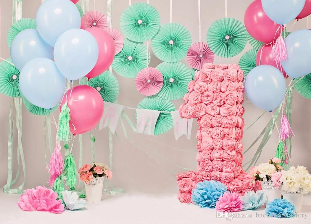 1st birthday background images ; 7x5ft-baby-039-s-1st-birthday-photography