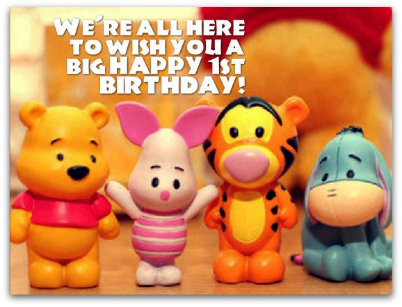 1st birthday card messages for nephew ; 1st-birthday-wishes3B