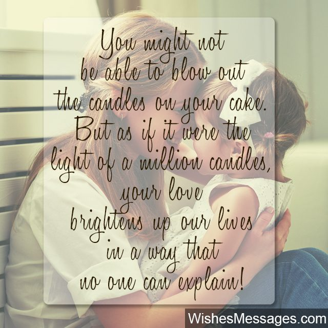 1st birthday card messages for nephew ; Cute-quote-for-little-daughter-from-mother-you-light-up-my-life-640x640