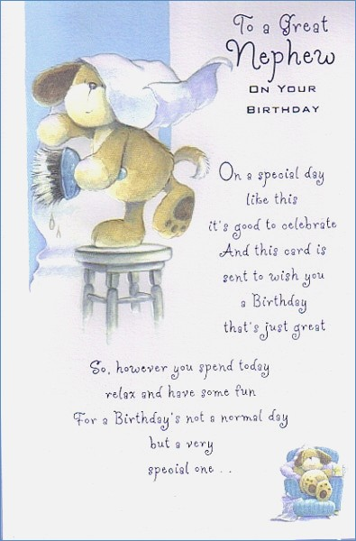 1st birthday card messages for nephew ; happy-birthday-nephew-for-of-1st-birthday-card-nephew
