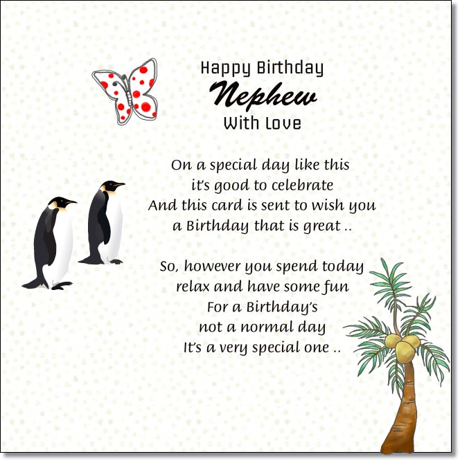 1st birthday card messages for nephew ; nephew-birthday-wishes-funny