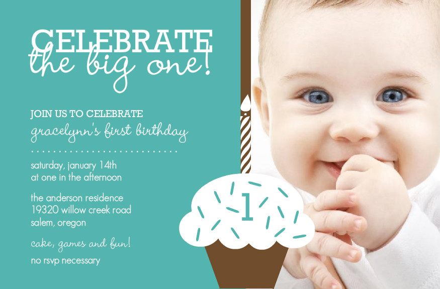 1st birthday greeting cards for baby boy ; First-birthday-invitation-cards-for-baby-boy-girl