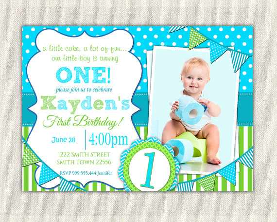 1st birthday invitation template online ; 1st-birthday-invites-with-some-beautification-for-your-Birthday-Invitation-Templates-to-serve-foxy-environment-17