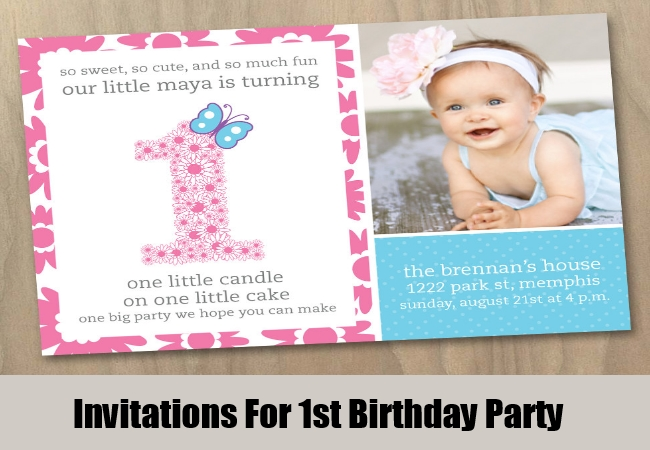 1st birthday invitation template online ; Invitations-For-1st-Birthday-Party