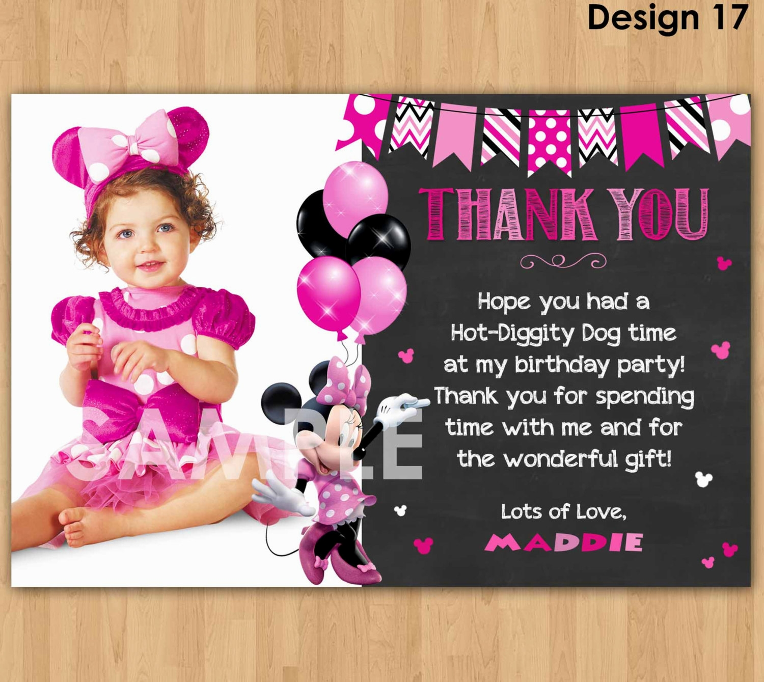1st birthday minnie mouse photo invitations ; minnie-mouse-first-birthday-invitations-is-unique-sample-to-create-lovely-invitations-card