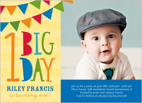 1st birthday photo invitations boy ; boy-1st-birthday-invitations-to-help-your-creativity-in-designing-your-interesting-Birthday-invitations-18