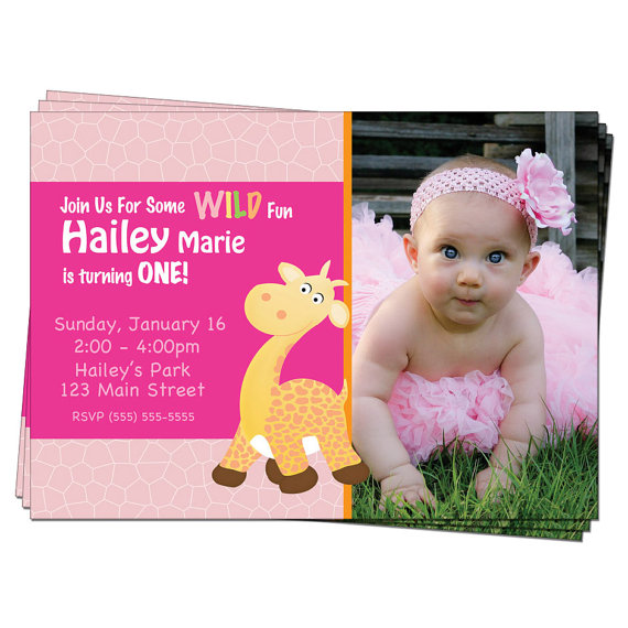 1st birthday photo invitations girl ; 1st-birthday-invitations-for-a-girl