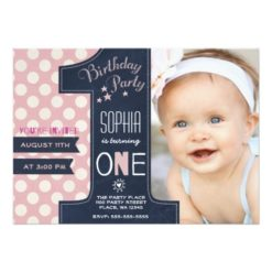 1st birthday photo invitations girl ; First-Birthday-Party-Invitation-Girl-Chalkboard-247x247