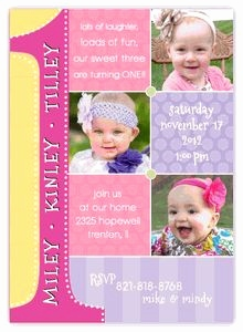 1st birthday picture collage ideas ; 1st-birthday-invitation-card-for-baby-girl-best-of-triplets-first-birthday-collage-three-girls-birthday-of-1st-birthday-invitation-card-for-baby-girl