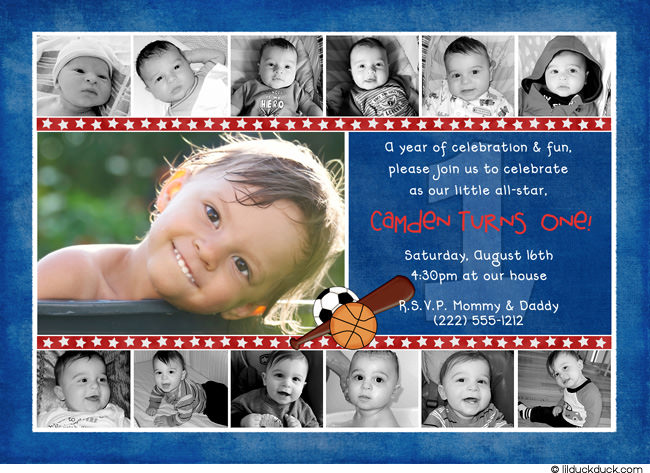 1st birthday picture collage ideas ; red-white-blue-collage-new-birthday-all-star
