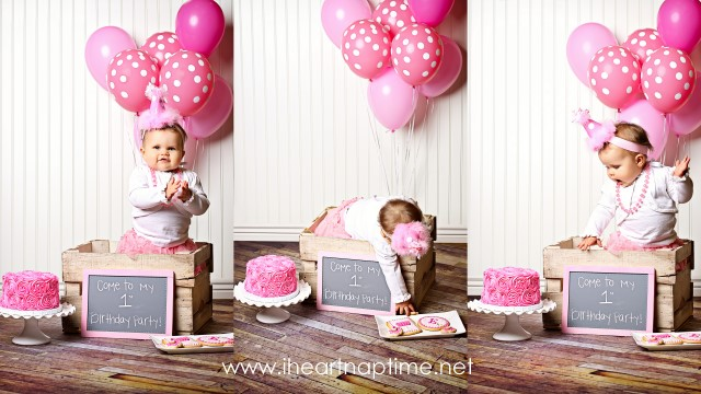1st year birthday picture ideas ; Starred-Photos34