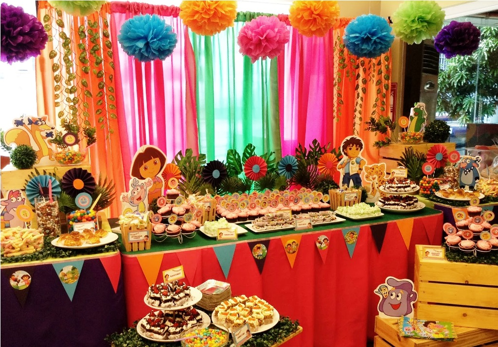 2 year old birthday party themes ; Party-decorations