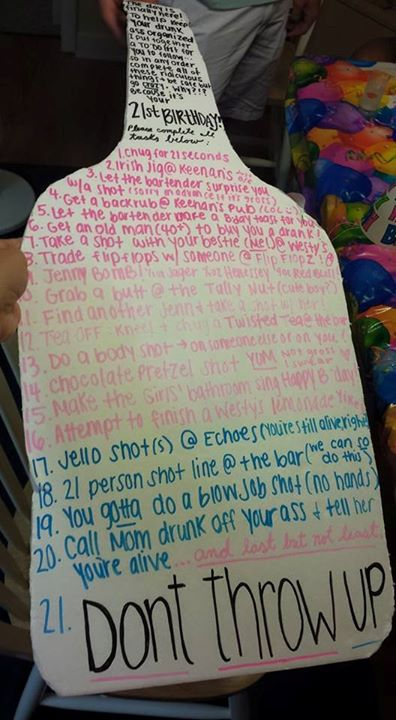 21 birthday sign list ideas ; b19ccea67c227b8022c6f85afd5b4d72