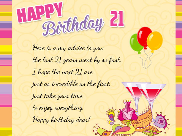 21st birthday card messages for daughter ; 21st-birthday-wishes-for-a-friend-1