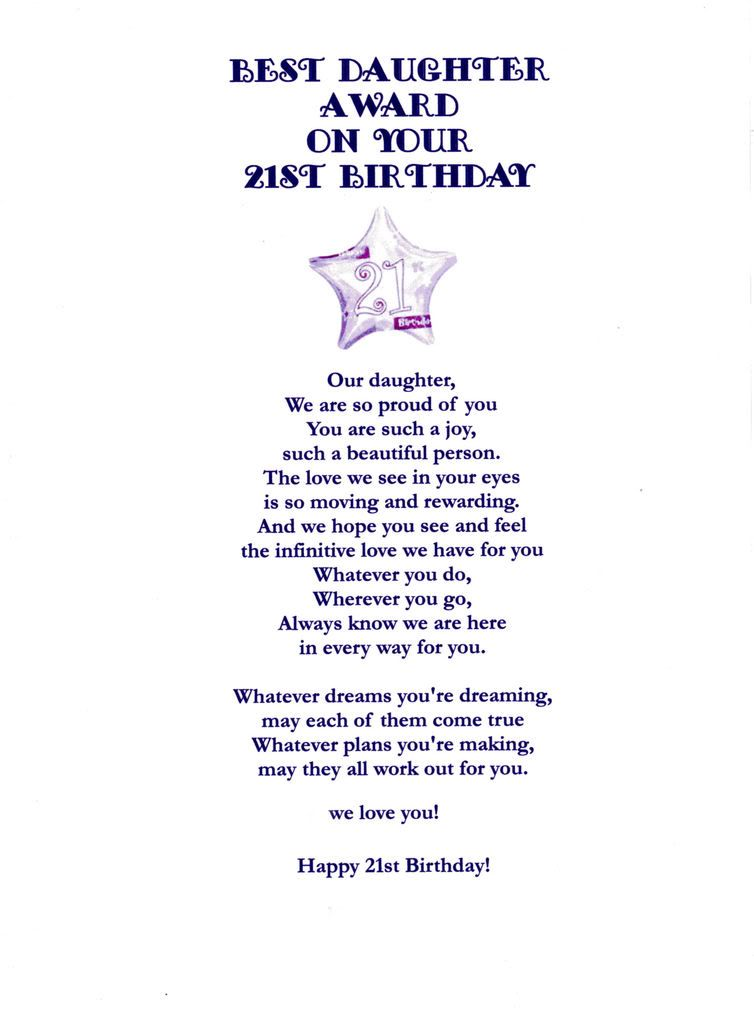 21st birthday card messages for daughter ; 87b28b49e6be3d7e44bdc6d4d6918876