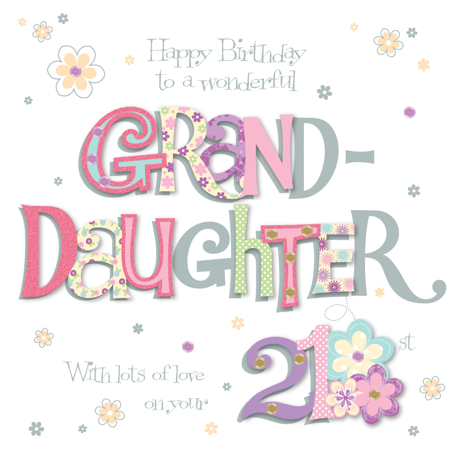 21st birthday greeting cards ; MWER0002_N