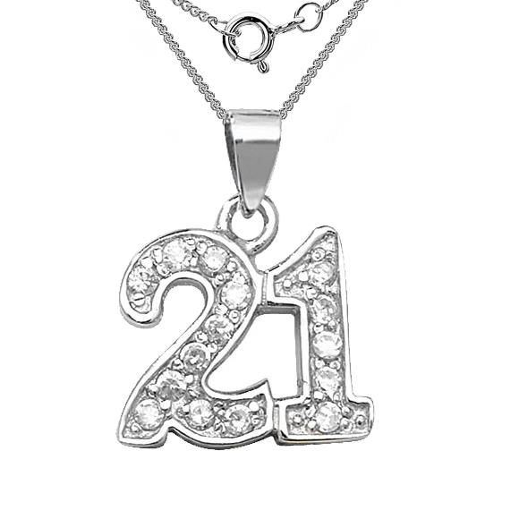 21st birthday key clipart ; 21st-cz-sterling-silver-necklace-th
