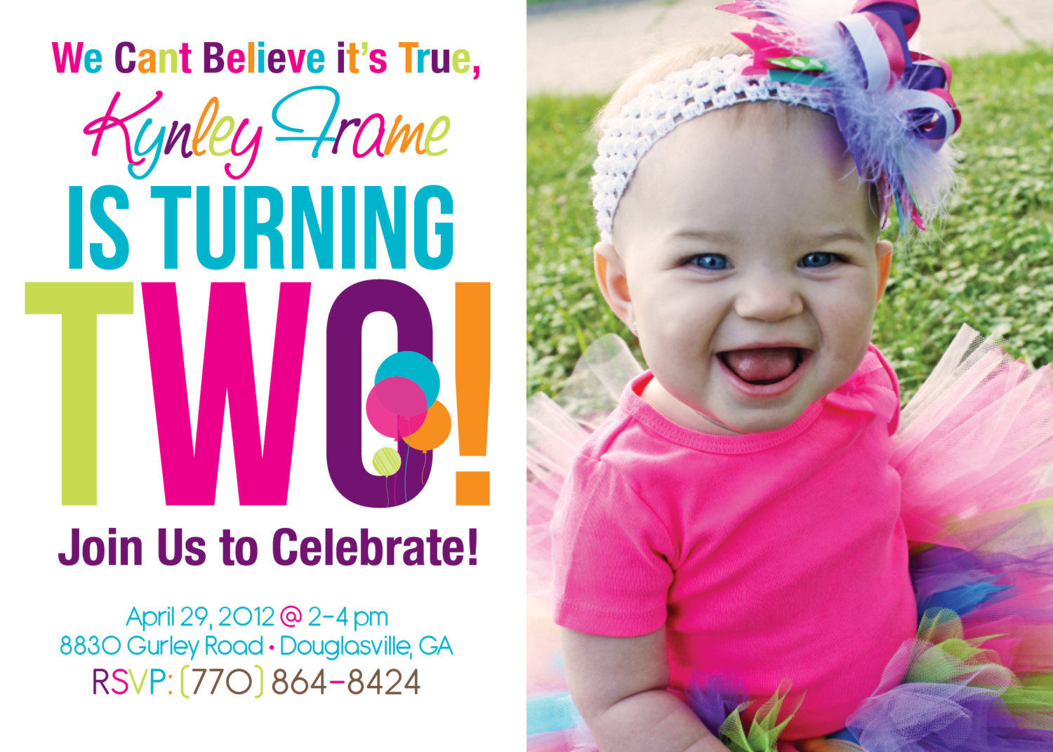 2nd birthday party invitation wording samples ; 2nd_birthday_invitations_wording_samples_2