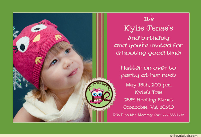 2nd birthday photo invitations ; 2nd-Birthday-Invitations-Free