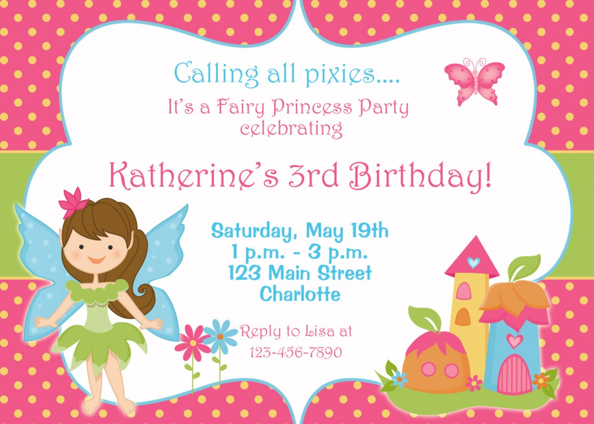 3 year old birthday invitation templates ; birthday_party_invitation_wording_for_3_year_old_5