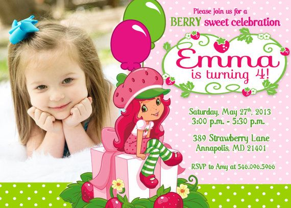 3 year old birthday invitation templates ; strawberry-shortcake-birthday-invitations-for-your-extraordinary-Birthday-Invitation-Templates-associated-with-beautiful-sight-using-a-chic-design-2